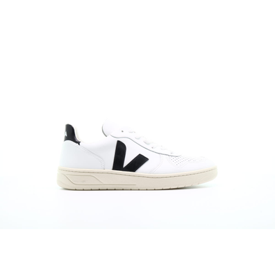 "Veja V10 Leather ""Extra White Black"" productafbeelding"