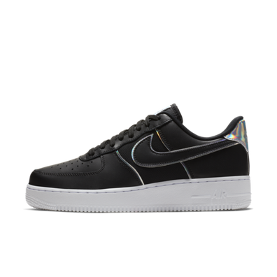 Nike Air Force 1 '07 Low 'Black & Silver' productafbeelding