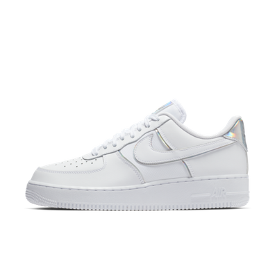 Nike Air Force 1 '07 Low 'White & Silver' productafbeelding