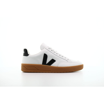 "Veja V-12 Leather ""Extra White Black"" productafbeelding"