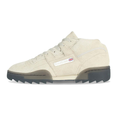 Reebok Workout Clean Mid R Light Sand / Black productafbeelding