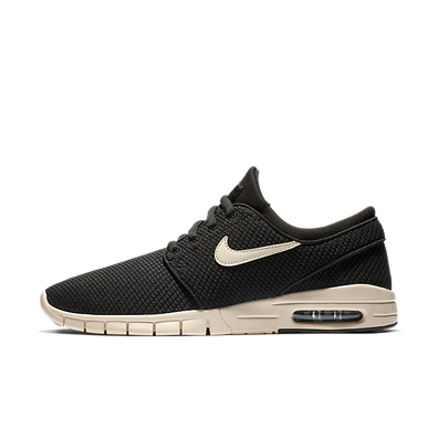 Nike SB Stefan Janoski Max (Black / Light Cream - Light Cream) productafbeelding