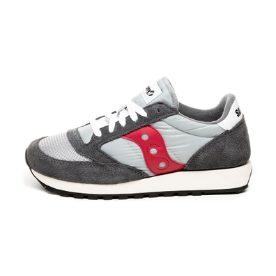 Saucony Jazz Original Vintage (Grey / Red) productafbeelding