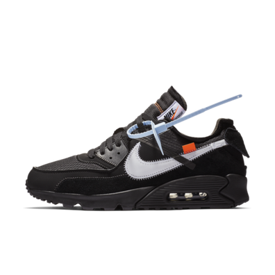 Off-White X Nike Air Max 90 'Black' productafbeelding