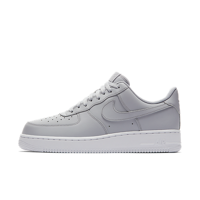 Nike Air Force 1 ´07 (Wolf Grey / Wolf Grey - White) productafbeelding