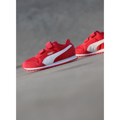 V2 Runner Hibiscus Red/White PS productafbeelding
