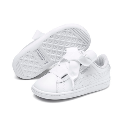 Puma Vikky Ribbon Kids Girls Trainers productafbeelding