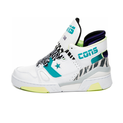 Converse ERX 260 Mid (White / Rapid Teal / Court Purple) productafbeelding