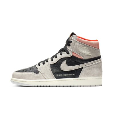 Air Jordan 1 Retro High OG 'Grey Crimson' productafbeelding