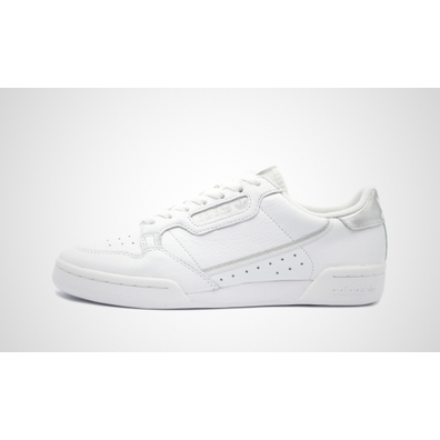 adidas Continental 80 Womens Metallics - White Silver productafbeelding
