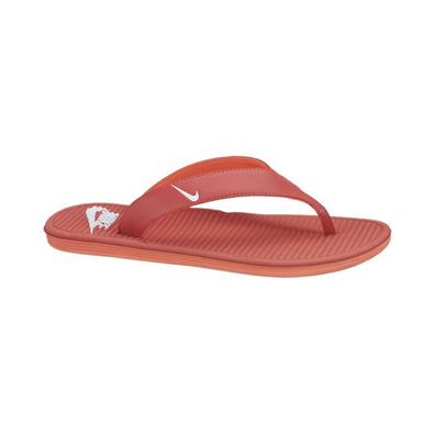 Nike Solarsoft Thong Pimento/white-total Crimson productafbeelding
