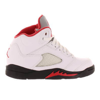 Nike Air Jordan 5 Retro (ps) White/fire Red-black productafbeelding