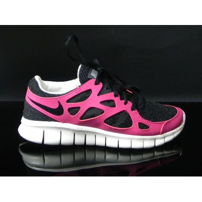 Nike Wmns Free Run +2 Ext Black/black Fire Berry productafbeelding