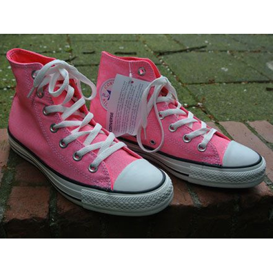 Converse All Star Chuck Taylor Hi Neon Neon/Pink productafbeelding