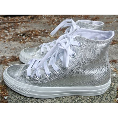 Converse Ct Silver/white productafbeelding
