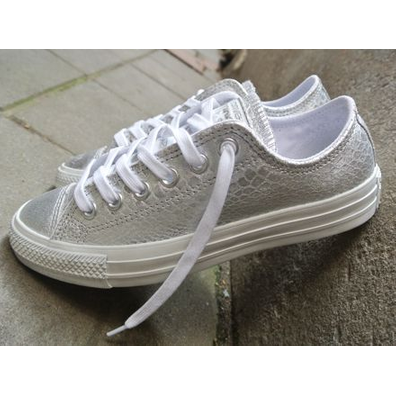 Converse Ct Ox Silver/white productafbeelding