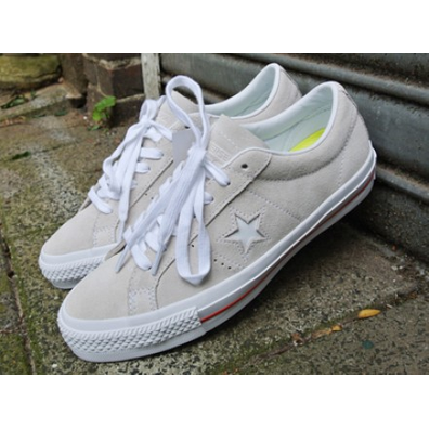 Converse One Star Skate OX Egret/White productafbeelding