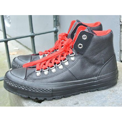 Converse Chuck Taylor Leather Street Hiker Hi Black productafbeelding