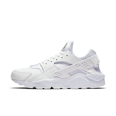 Nike Air Huarache Run Prm White/White-Black productafbeelding