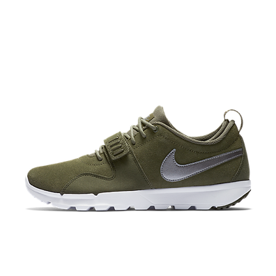 Nike Sb Trainerendor Crg Khk/Mtlc Cl Gry-White-Whit productafbeelding