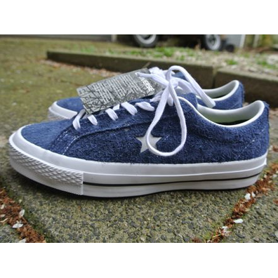 Converse One Star Ox Navy White productafbeelding
