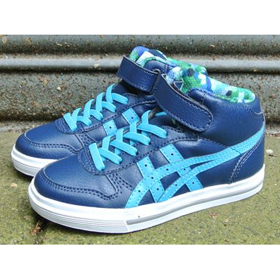 Asics Aaron MT PS Navy/Atomic Blue productafbeelding