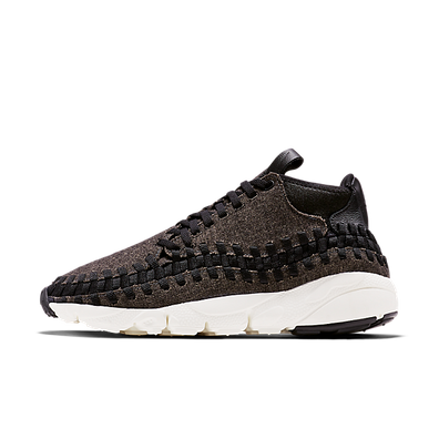 Nike Air Footscape Woven Chukka Se Black/black-ivory productafbeelding