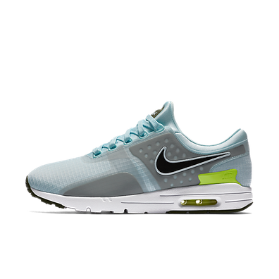 Nike Wmns Air Max Zero Si Glacier Blue/black-legion Green-white productafbeelding