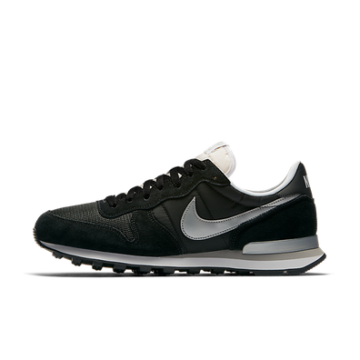 Nike Internationalist Black/metallic Silver-white-flt Silver productafbeelding