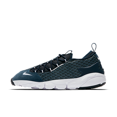 Nike Air Footscape Nm Jacquard Still Blue/white-armory Navy-black productafbeelding