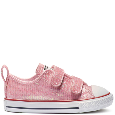 Chuck Taylor All Star Hook and Loop Sparkle Low Top productafbeelding