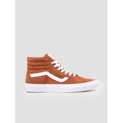 Vans Ua Sk8-Hi Reissue Leather Brown True White VN0A2XSBU5K1 productafbeelding
