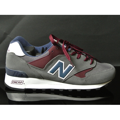 New Balance M577 Grey/blue/red productafbeelding
