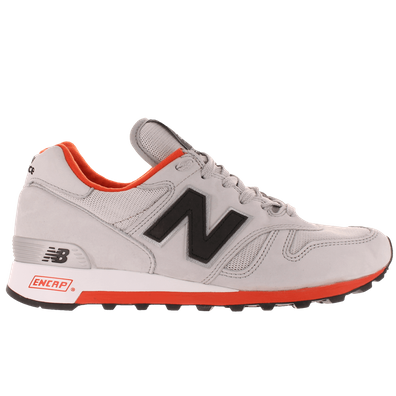 313411-60 12 New Balance M1300 Made in the U.S.A. Light Grey & Orange productafbeelding