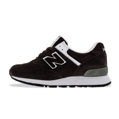 New Balance W576 Suede Dark Brown productafbeelding
