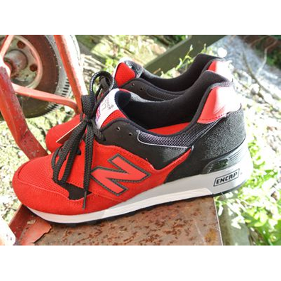 New Balance M577 Red/black productafbeelding