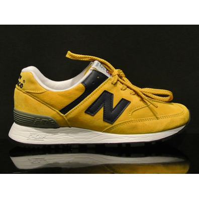 New Balance W576 Yellow/navy productafbeelding