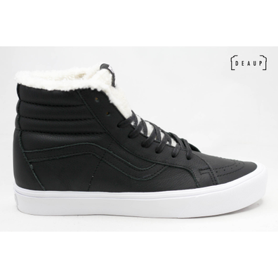 Vans Sk8-Hi 'Faux Fur Black Leather' productafbeelding