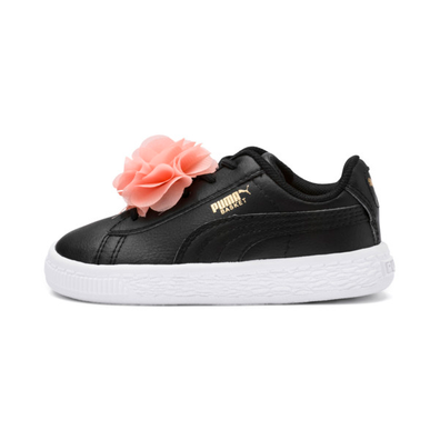 Puma Basket Flower Pre School Girls%e2%80%99 Trainers productafbeelding