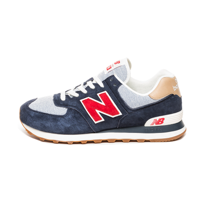 New Balance ML574PTR (Navy / Red) productafbeelding