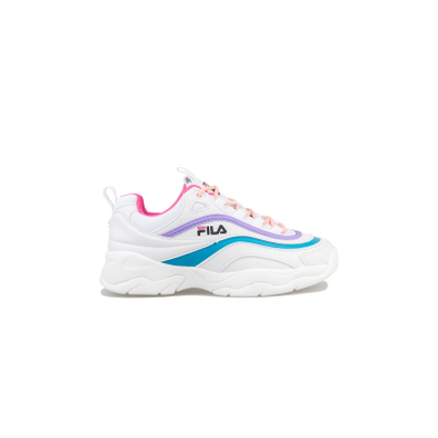Fila Ray Low WMNS White / Very Berry productafbeelding