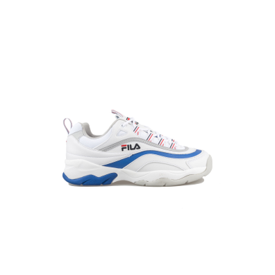 Fila Ray Low White / Electric Blue productafbeelding