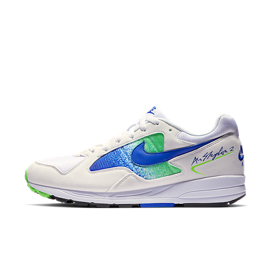 Nike Air Skylon II (White / Hyper Royal - Green Strike - Black) productafbeelding