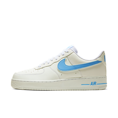 Nike Air Force 1 ´07 3 (White / University Blue) productafbeelding