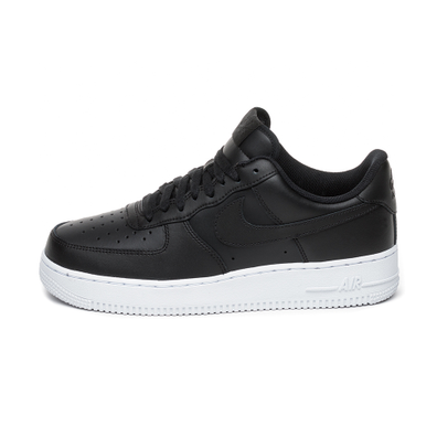 Nike Air Force 1 ´07 (Black / Black - White) productafbeelding