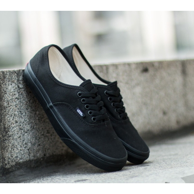 Vans Authentic Canvas Black productafbeelding