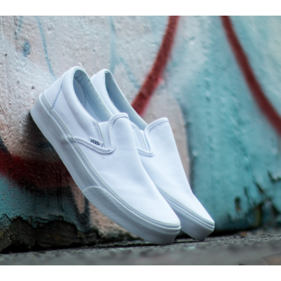 Vans Classic Slip-On True White productafbeelding