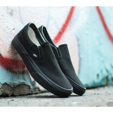 Vans Classic Slip-On Black/ Black productafbeelding