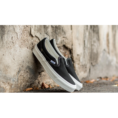 Vans OG Classic Slip On LX (Canvas) Black productafbeelding