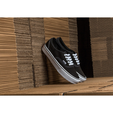 Vans Authentic Lite (Canvas) Black/ White productafbeelding
